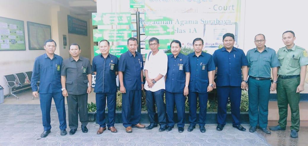 Kunjungan Studi Banding di Pengadilan Agama Surabaya