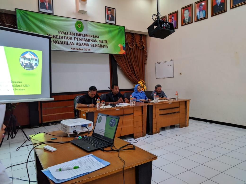 Evaluasi Implementasi APM di Pengadilan Agama Surabaya
