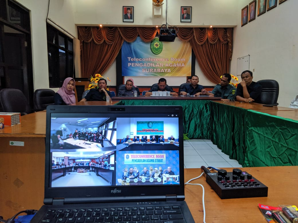 Teleconference : Family Court of Australia dan Pengadilan Agama Surabaya